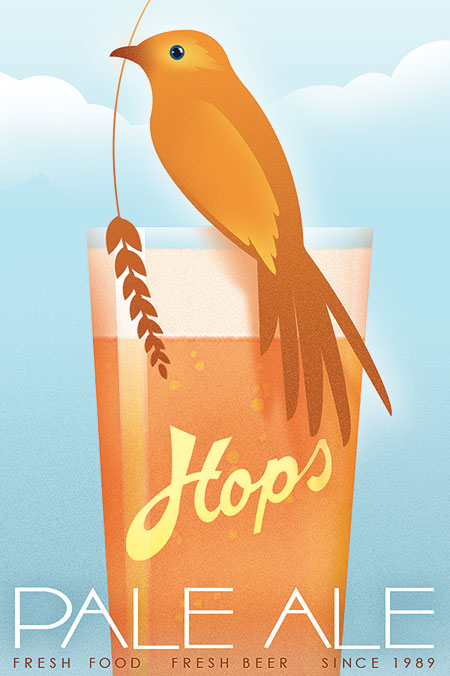 Unused Beer Poster Concept